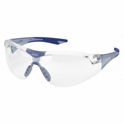 S - Safety Glasses With Blue Frame And Anti-Fog Lens