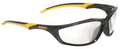 R - Router™ Safety Glasses With Black Frame And Clear Anti-Fog Lens