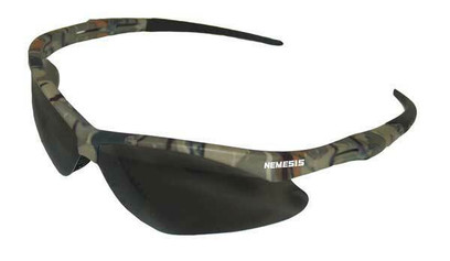 N - V30 Nemesis Safety Glasses With Gray Anti-Fog, Scratch-Resistant Lens