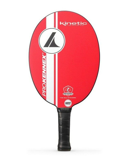 ProKennex Kinetic Ovation Speed Midweight Pickleball Paddle - Race Car Red