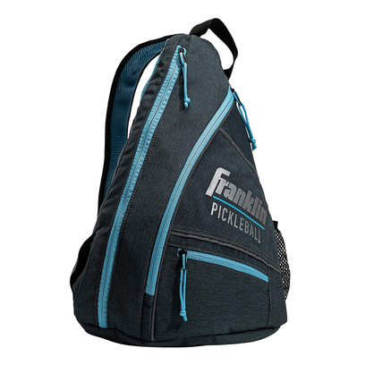 Franklin Sports Elite Performance Sling Bag - Grey/Blue