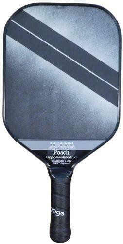Engage Poach Icon Lightweight Pickleball Paddle - Metallic