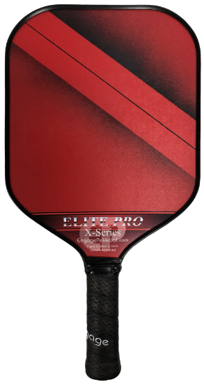 Engage Elite Pro X-Series Pickleball Paddle - Red