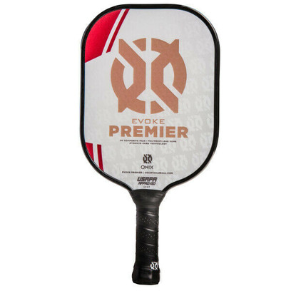 Onix Evoke Premier Midweight Pickleball Paddle - Red