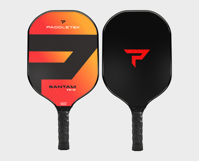 Paddletek Bantam TS5 Pickleball Paddle - Wildfire (Red)
