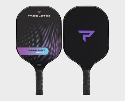 Paddletek Tempest Wave II Pickleball Paddle - Aurora (Purple)