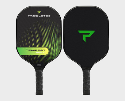 Paddletek Tempest Wave II Pickleball Paddle - Barium (Green)