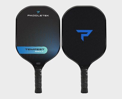 Paddletek Tempest Wave II Pickleball Paddle - Riptide (Blue)
