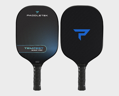 Paddletek Tempest Wave Pro Pickleball Paddle - Riptide (Blue)
