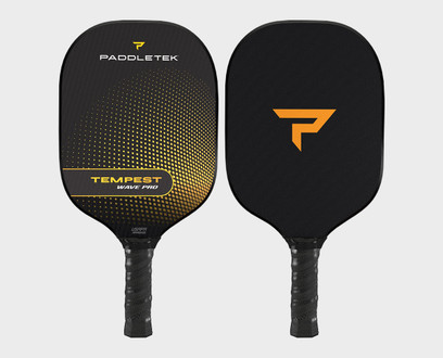 Paddletek Tempest Wave Pro Pickleball Paddle - Horizon (Yellow)