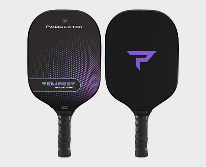 Paddletek Tempest Wave Pro Pickleball Paddle - Aurora (Purple)