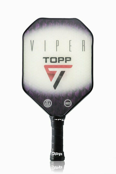 TOPP Viper Composite Pickleball Paddle - Purple