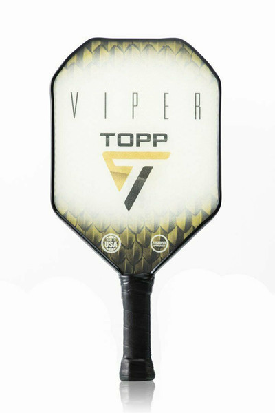 TOPP Viper Composite Pickleball Paddle - Yellow