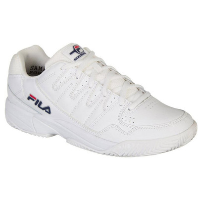 FILA Double Bounce Pickleball Shoes for Men - White
