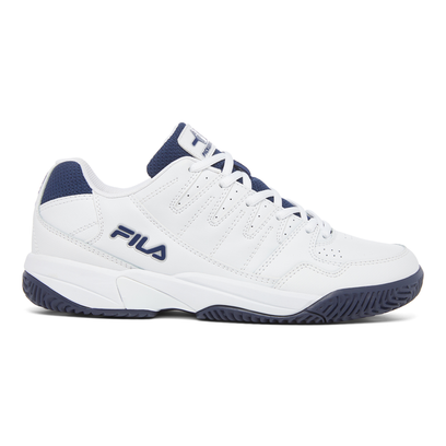 FILA Double Bounce Pickleball Shoes for Men - Navy/White