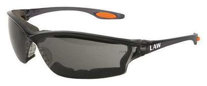 Z - Law® 3 Safety Glasses With Gray Anti-Fog, Scratch-Resistant Lens