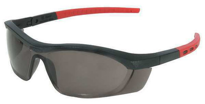 AA - Tornado F5 Safety Glasses, Gray Anti-Fog, Anti-Static, Scratch-Resist. Lens