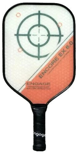 Engage Encore EX 6.0 Pickleball Paddle - Thicker Core Midweight Red