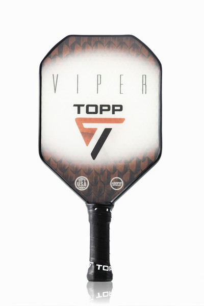 TOPP Viper Composite Pickleball Paddle - Red