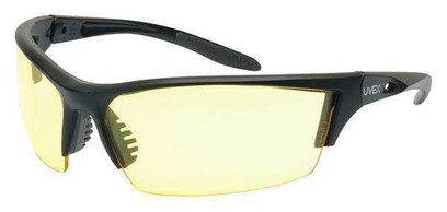 AG - Instinct™ Safety Glasses With Black Frame And Amber Anti-Fog Lens