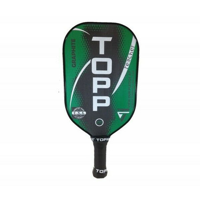 TOPP Reacher Graphite Pickleball Paddle - Green/White
