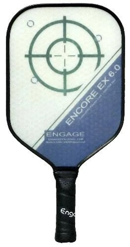 Engage Encore EX 6.0 Pickleball Paddle - Thicker Core Midweight Blue