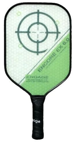 Engage Encore EX 6.0 Pickleball Paddle - Thicker Core Midweight Green