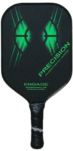 Engage Precision Pickleball Paddle - Optic Green