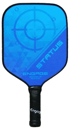 Engage Omega Status Pickleball Paddle - Ice Blue