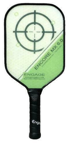 Engage Encore 6.0 MX Pickleball Paddle - Midweight - Green
