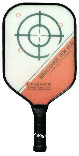 Engage Encore 6.0 EX Pickleball Paddle - Lightweight - Red
