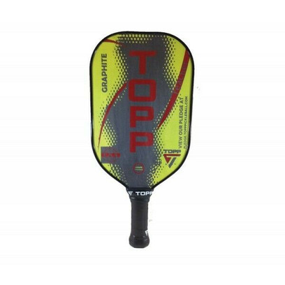 TOPP Reacher Graphite Pickleball Paddle - Yellow/Red