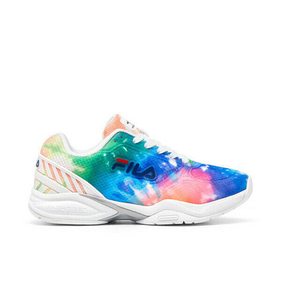 FILA Volley Zone Pickleball Court Shoes - Ladies - TieDye