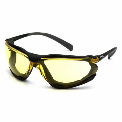 B-12 - Pyramex Proximity H2X Amber Anti-Fog Safety Glasses
