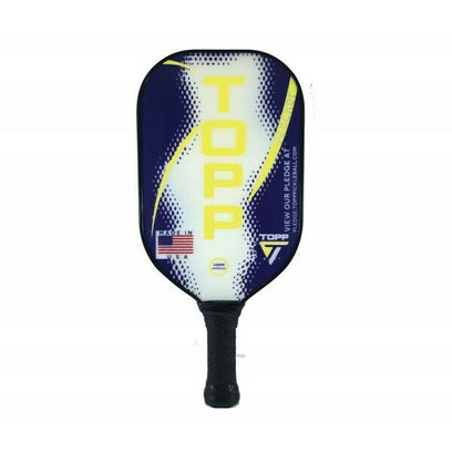 TOPP Reacher Composite Pickleball Paddle - Navy/Yellow