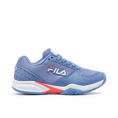 FILA Volley Zone Pickleball Court Shoes - Ladies - Lavender/Pink