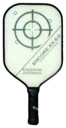 Engage Encore 6.0 EX Pickleball Paddle - Lightweight - White