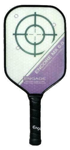 Engage Encore 6.0 MX Pickleball Paddle - Midweight - Purple
