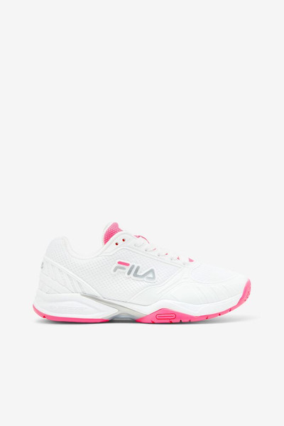 FILA Volley Zone Pickleball Court Shoes - Ladies - Pink/White