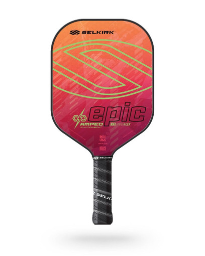 Selkirk 2021 Epic AMPED X5 Pickleball Paddle - Midweight - Electrify