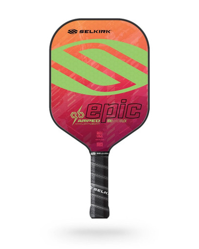 Selkirk 2021 Epic AMPED X5 Pickleball Paddle - Lightweight - Electrify