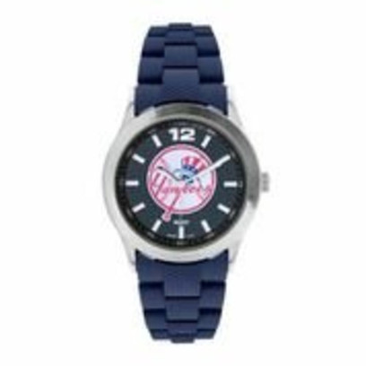 "New York Yankees ""Bullpen Series"" Watch - Top Hat Logo - Dark Blue Band"