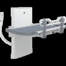 Pressalit Care R8582313301 Nursing Bench 3000, graphite grey, inc. Safety Rail - 1300mm