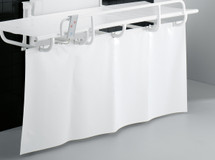 Pressalit Care R8420 Splash Curtain for Nursing Bench 1000 - 1400mm