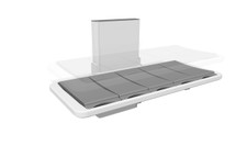 Ropox 40-25023 changing and shower bed - 146cm