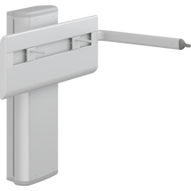 Pressalit PLUS R4750 wash basin bracket, powered with lever control