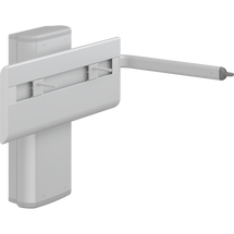 Pressalit PLUS R4650 wash basin bracket, gas-assisted with lever control