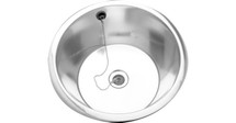 Scanflex round shallow bowl sink - S-4