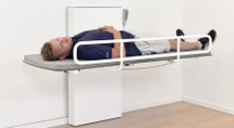 Ropox 40-30804 Vario changing bed - 120cm, with bed guard - excluding mattress