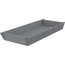 Pressalit Care R844717302 mattress for MSCT 1 shower change trolley - 1790mm, pewter grey